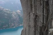 Прекестолен - 604 м над уровнем моря