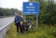 Перед покорение восьми километрового Хуянгер-тоннеля