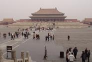 Дворец разбит на части. Их 14. Эту часть, двор императора, можно видеть во многих фильмах