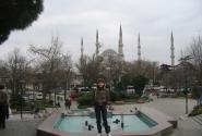 За мной голубая мечеть