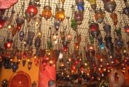 Потолок в одном из кафе на Султанахмет
