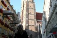 Собор Фрауенкирхе - известнейший символ Мюнхена. 1494.
