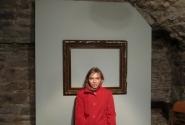 Полотно в музее живописи Адамсона Эриксана свободно, пользуясь моментом