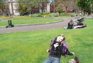 В парке перед собором Св.Патрика
