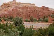 Касба Аит Бенхадду вблизи. Трудно поверить, что все это - из глины и соломы, да?