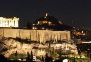 Вид на Акрополь с холма Ликавитос