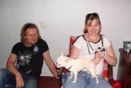 Трое в лодке не считая собаки :)