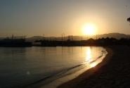 Закат в Акабе...