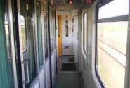 вагон Intercity, проход и купе