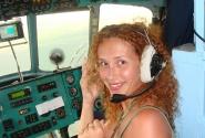 А я все летала! (кабина пилота, высота 600 м, где-то над Кубой)