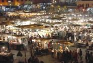 Площадь Джама-Эль-Фна