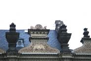 Рога на крыше