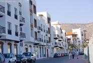 Фешенебельный район города с бутиками