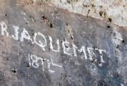 Ливан. Баальбек. И французы в XiX веке на стенках надписи оставляли...