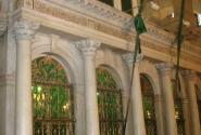 Сирия. Дамаск. Мечеть Омейядов. Здесь хранится голова Иоанна Крестителя