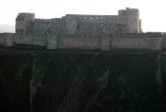Сирия. Рыцарский замок Krack de Chevaliers. XII век.