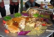 Сирия. Лёгкий обед по-сирийски
