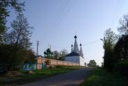 Вид на Алексеевский монастырь с юга
