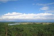 Вид на поселок Рыбачий