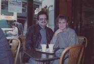 С женой в той самой первой поездке