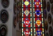 Витражи, символизирующие единство датского королевства