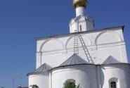 Васильевский монастырь. Вид с севера