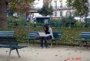Париж,осень, интернет...