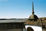 Бородавское озеро. Вид из Ферапонтова монастыря