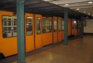 Будапешт. Рыжая ветка метро (под бульваром Андрияши)