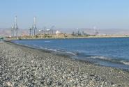 Кипр. Лимасол. Пляж Дамская миля