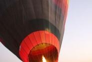 ОАЭ. Подготовка к полету на воздушном шаре