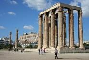 Круиз Южное созвездие. Греция, Афины. Храм Зевса Олимпийского