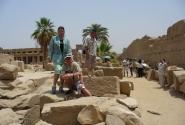 В Карнакском храме (Луксор)