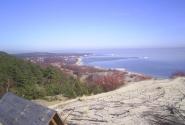 Вид с дюны Эфа на Литву