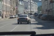 улица Рождественка. (Невский проспект?)