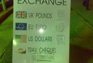 обменник, не самый лучший курс