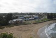 вид на город Port Cambell