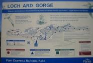 место Loch Ard Gorge