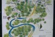 схема похода по лесу