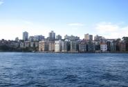 фото с кораблика. северная часть Сиднея