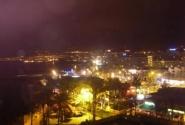 Плайа де лас Америкас ночью