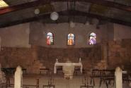 На вершине горы в церкви Моисея тоже летают сгустки энергии