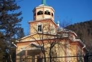 церковь в Листвянке