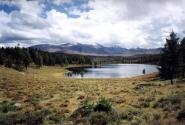 Озеро на Улаганском перевале