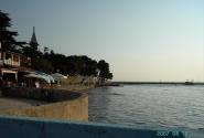 Новиград, Здесь мы снова вышли к морю. И вот они - древние стены.