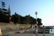 Новиград. И вновь Святая Пелагея - над старыми крепостными стенами и...