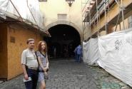 Средневековые ворта. 1375 г. Идет реставрация