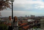 Вид на Долний град