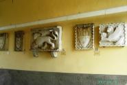 Выставка под аркой первых ворот
