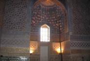 Гур-Эмир. Роспись и суры из Корана
